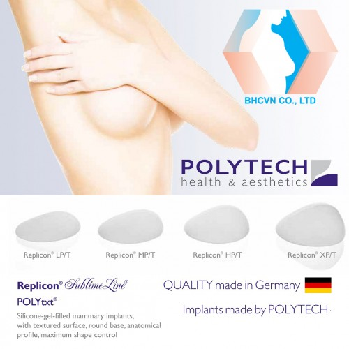 Polytech Replicon-Texture Breast Implant