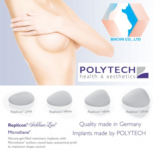 Microthane-Replicon Breast Implant